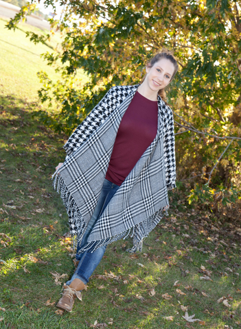 Brianna Poncho - Eye Candy Beauty + Boutique