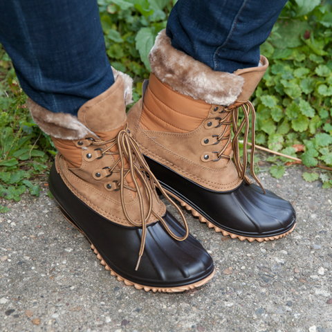 Michaela Waterproof Boots - Eye Candy Beauty + Boutique