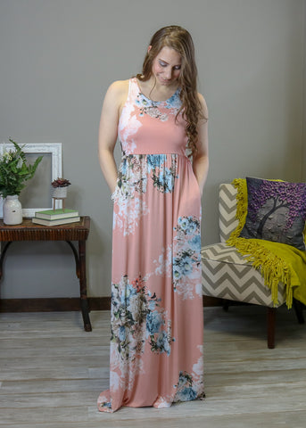 Adriana Maxi Dress - Eye Candy Beauty + Boutique