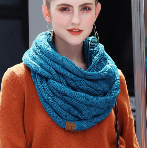 Jules C.C. Infinity Scarf - Eye Candy Beauty + Boutique
