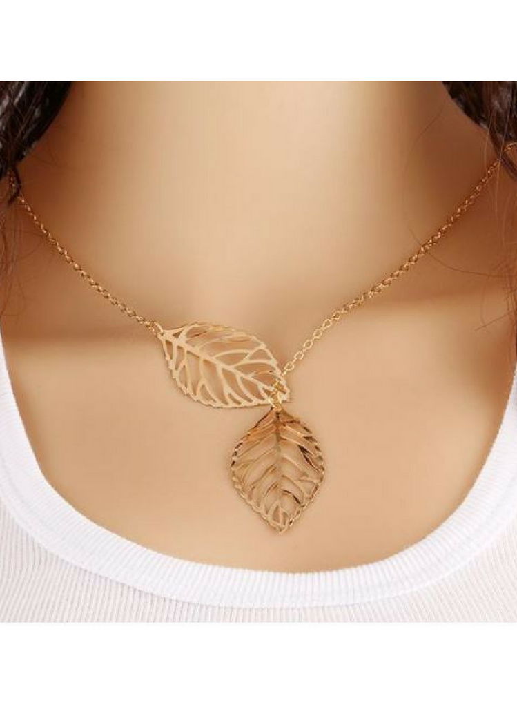 Leaf Necklace - Eye Candy Beauty + Boutique