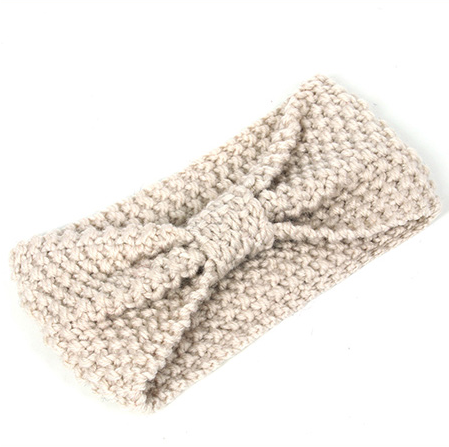 Bethany Crocheted Bow Headband - Eye Candy Beauty + Boutique