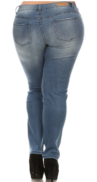 Distressed Denim - Eye Candy Beauty + Boutique