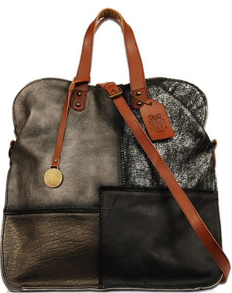 Dylan Patchwork Vegan Leather Handbag - Eye Candy Beauty + Boutique