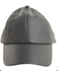 Faux Leather Baseball Cap - Eye Candy Beauty + Boutique