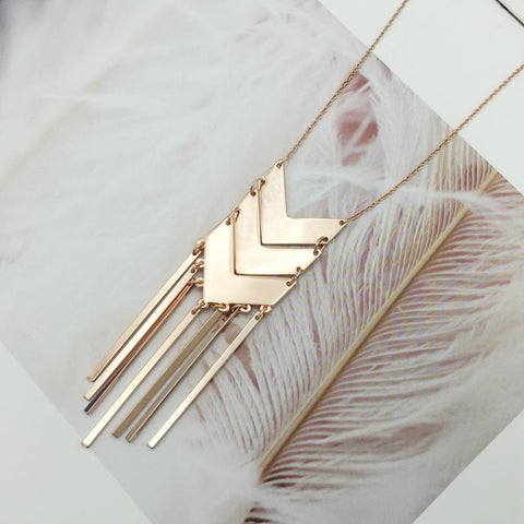 Adalynn Geometric Necklace - Eye Candy Beauty + Boutique