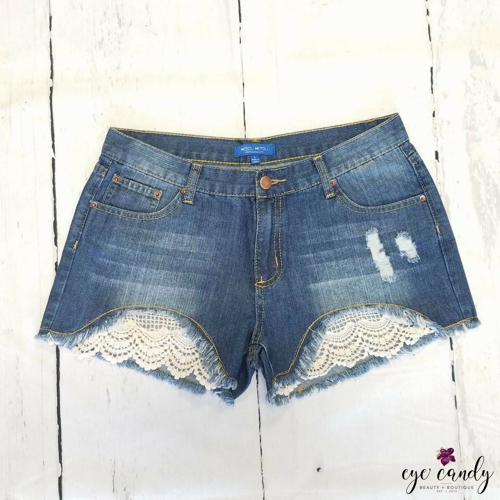 Skylar Shorts - Eye Candy Beauty + Boutique