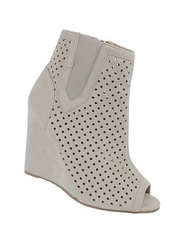 Claire Wedge Booties - Eye Candy Beauty + Boutique