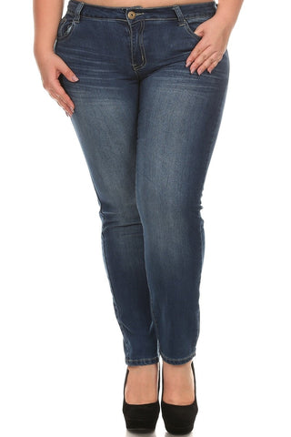 Stonewash Denim - Eye Candy Beauty + Boutique