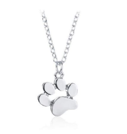 Puppy Paw Necklace - Eye Candy Beauty + Boutique