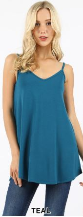 Lucia Reversible Tank - Eye Candy Beauty + Boutique