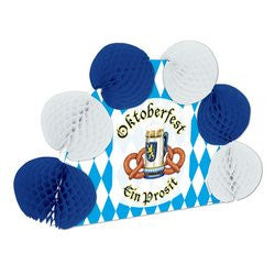 Oktoberfest Pop-Over Centerpiece Party Accessory (1 count) (1/Pkg)