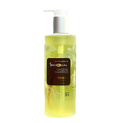 Sensorial Shampoo Korean Ginseng Shampoo Prevent hair loss, hair tonic 280ml.,pack 2