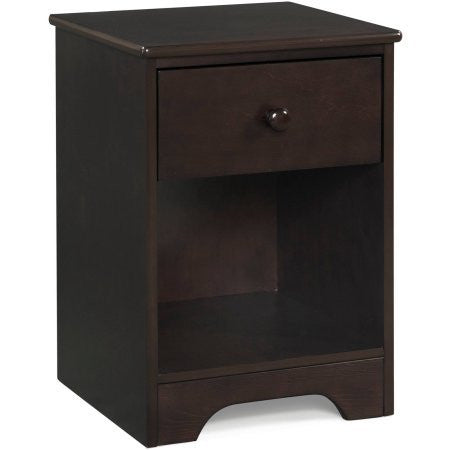 Better Homes and Gardens Kids Pine Creek Nightstand, Espresso