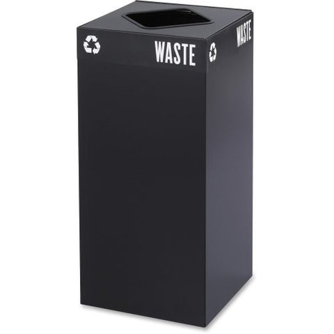 Safco Products Company Recycling Receptacle, 15-1/(Pack Of 1)