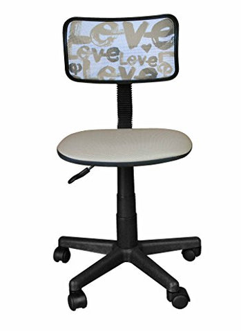Urban Shop Printed Rolling Task Chair, Love Chair