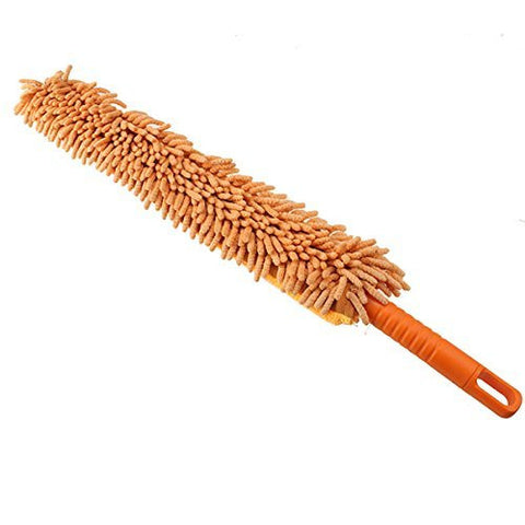 TOOGOO(R)Flexible Chenille Bendable Microfiber Cleaning Duster Brush Random Color