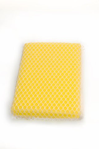 Lola 460 Nylon Net and Sponge Cleaning Pad, 6-Pack
