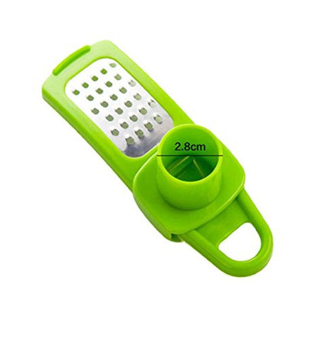 kitchen stainless steel pressing garlic slicer cutter shredder 1 more info