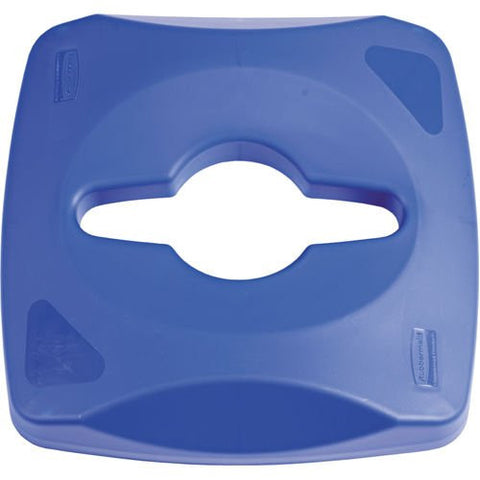 Rubbermaid Square Lid for 23gal Recycling Bin