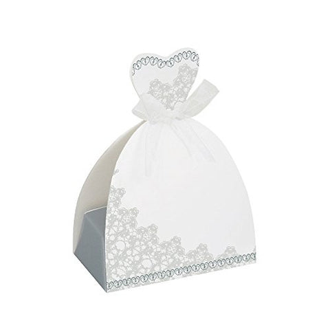 Bride Wedding Favor Boxes, 8ct