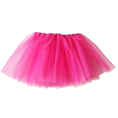 Girls Dancing Skirts,Hemlock Toddler Girls Autumn Dress Princess Party Tutu Skirt (Free, Hot pink)
