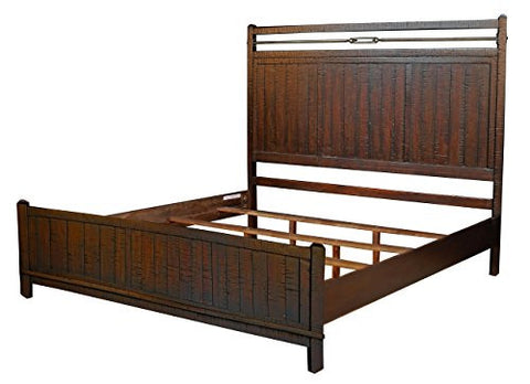 Suncadia Panel Bed - Queen