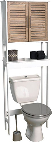 "EVIDECO Stockholm 24.8"" x 70.5"" Free Standing Over the Toilet"