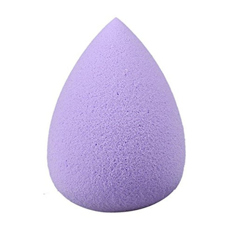 "Outtop 1 Piece Makeup Blender Sponge, Beauty Wedges Flawless Foundation Puff Egg Shape (M_2.36 x 2.58"", Purple)"
