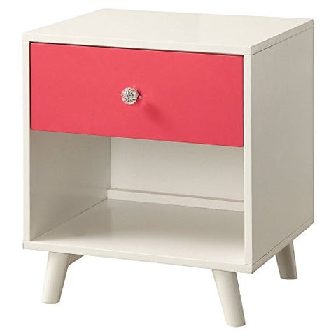 Furniture of America Iiyena Two-Tone Youth Nightstand