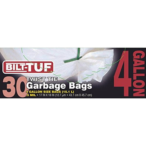 Bilt-Tuf 4 Gallon Trash Bag