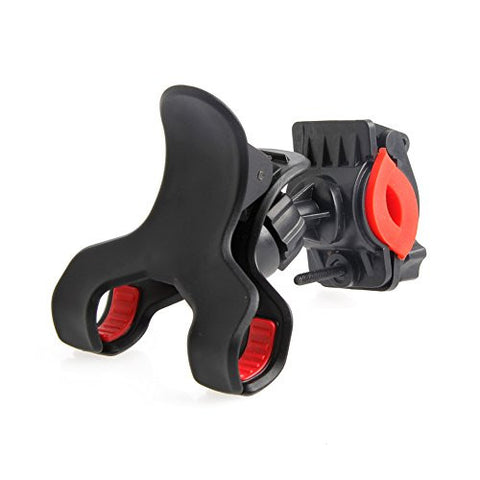 Stebcece Motorcycle Bicycle 360° MTB Bike Handlebar Mount Holder for Cell Phone GPS Black