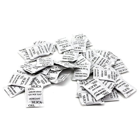 HuaYang 50 Packs Silica Gel Packets Absorbing Desiccant Sachets/ Bags /Pouches / Drypack