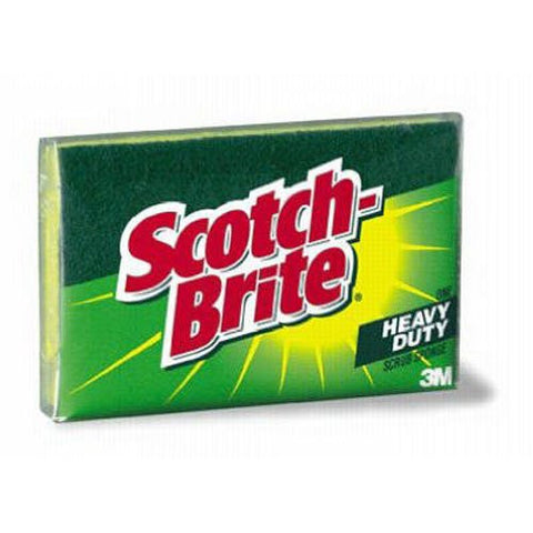 Scotch-Brite Kitchen Scrub Sponge, 1 Sponge (425)