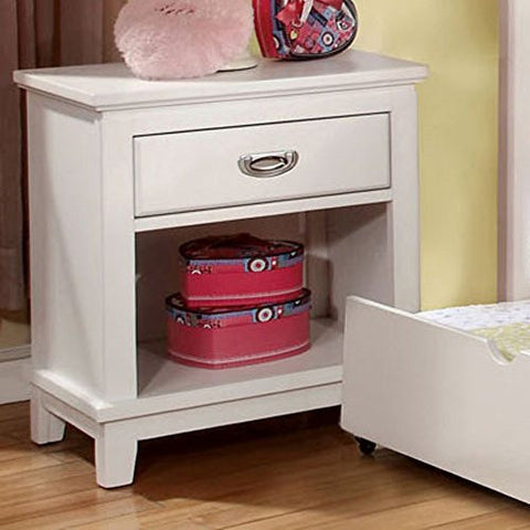 Furniture of America Alana Marie Inspired 1 Drawer Nightstand -
