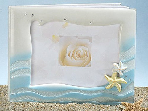 Starfish Beach Theme Guest Book