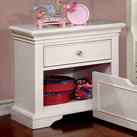 Furniture of America Adina Transitional Nightstand