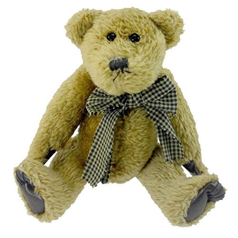 Boyds Bears Plush BARNABY B. BEAN Fabric Bean-Filled Rare 515003