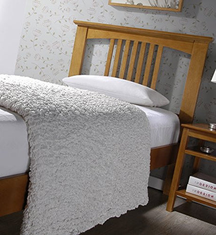 Home Life Jophy Oak Wood Bed - 5 Year Limited Warranty Included - Headboard Only - Full