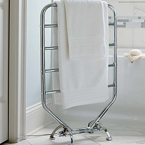 Traditional Towel Warmer - Chrome Finish