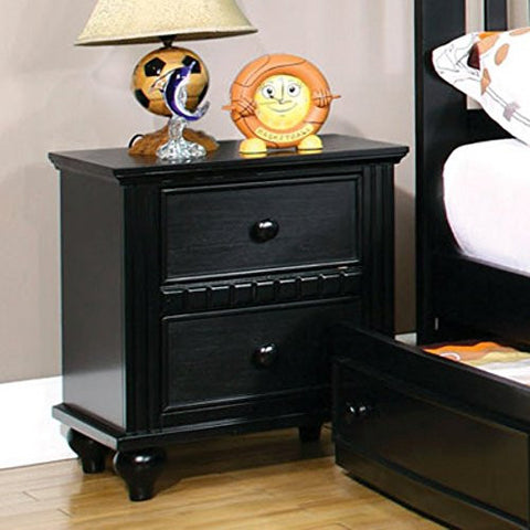 Furniture of America Corine 2 Drawer Nightstand