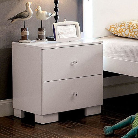 Furniture of America Ariya Sleek Nightstand