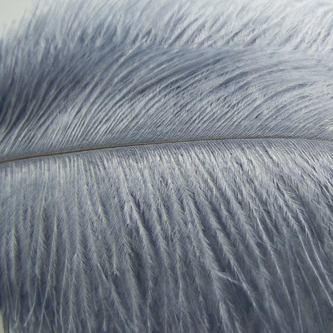 "KOLIGHT500pcs Ostrich Feather Gray 12""-14"" Natural Feathers Wedding, Party ,Home ,Hairs Decoration"