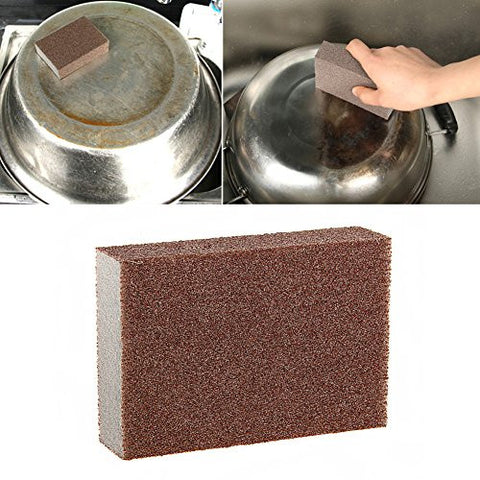 Sponge Kitchen Nano Emery Magic Clean Rub the pot Except rust Focal stains Sponge