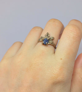 Sapphire Stardust ring
