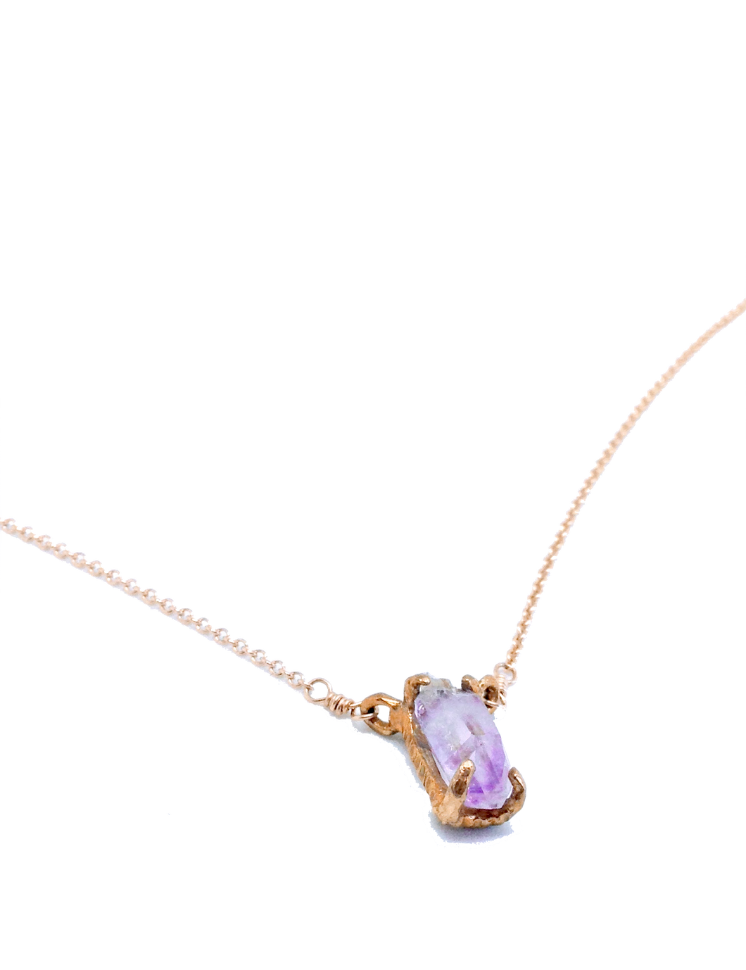 Amethyst Baby necklace