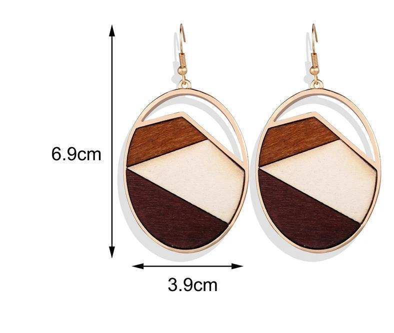 Excessorize Me Earring Wood Mountain Earrings