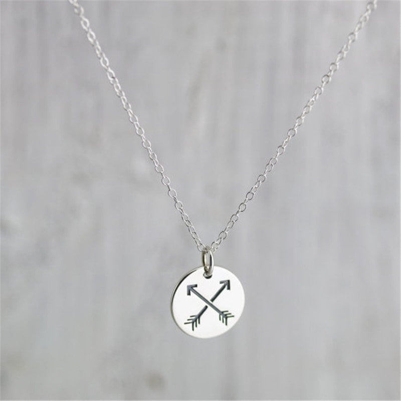 Excessorize Me Necklace Crossed Arrows Necklace