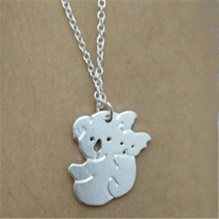 Excessorize Me Necklace Koala Bear With Baby Charm Necklace