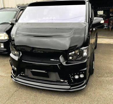 Toyota Hiace Crystal Black Projector H.I.D Head Lights  2014 - Current